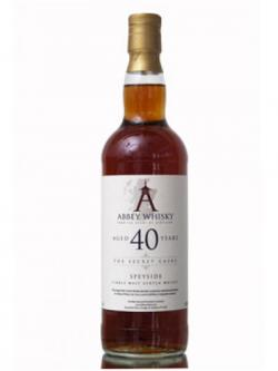 Abbey Whisky / 40 Year Old Speyside
