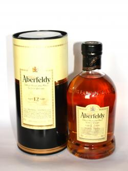 A bottle of Aberfeldy 12 year