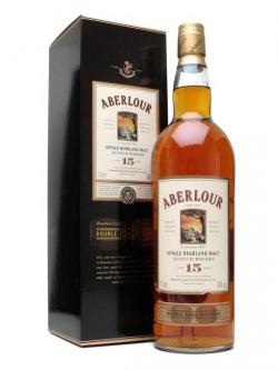 Aberlour 15 Year Old / Double Cask Matured Speyside Whisky