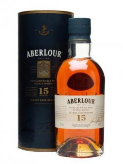 Aberlour 15 Year Old / Select Cask Reserve Speyside Whisky