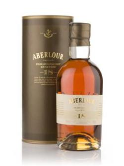 A bottle of Aberlour 18 Year Old