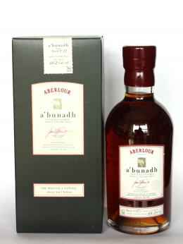 a bottle of Aberlour A'bunadh 17