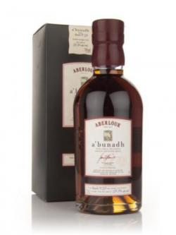 A bottle of Aberlour a'Bunadh Batch 29