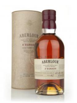 A bottle of Aberlour a'Bunadh Batch 42
