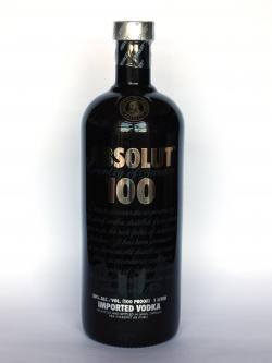 Absolut 100 Front side