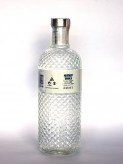 Absolut Glimmer Limited Edition Back side