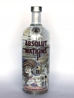 Absolut Vodka Watkins Travellers Exclusive Front side