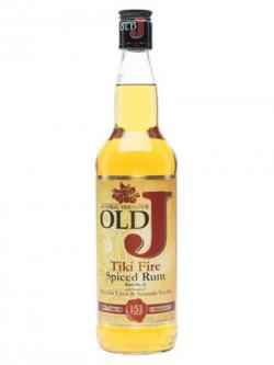 Admiral Vernon's Old J Spiced Tiki Fire Rum