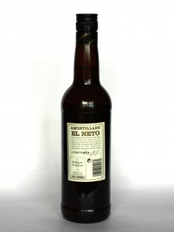 Amontillado El Neto Back side