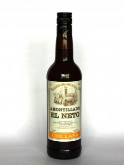 Amontillado El Neto Front side