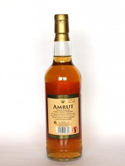 Amrut Peated Single Malt Back side