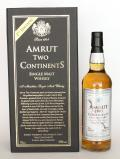 A bottle of Amrut Two Continents 2nd Edition