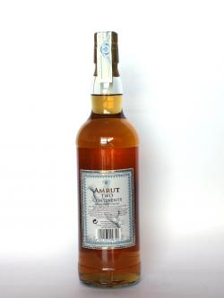 Amrut Two Continents Back side