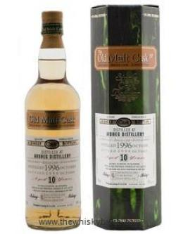 A bottle of Ardbeg 10 Year Old 1996 Old Malt Cask #3058