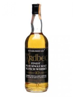 Ardbeg 10 Year Old / Bot. 1980's Islay Single Malt Scotc