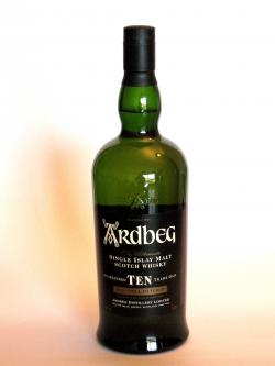 Ardbeg 10 year old Front side