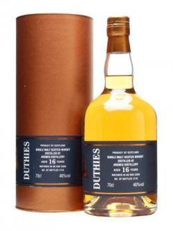 Ardbeg 16 Year Old / Duthies Islay Single Malt Scotch Whisky