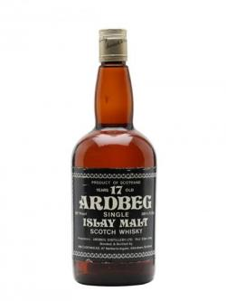 Ardbeg 17 Year Old / Bot.1970s / Cadenhead's Islay Whisky