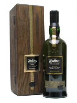 A bottle of Ardbeg 1974 Provenance / USA Bottling Islay Single Malt Scotch Whisky