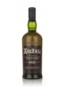 A bottle of Ardbeg 1975