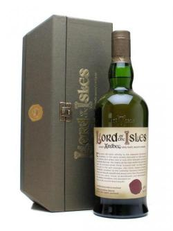 A bottle of Ardbeg 25 Year Old / Lord of the Isles Islay Single Malt Scotch Whisky