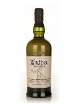 A bottle of Ardbeg Supernova - Committee Release