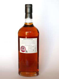 Auchentoshan 1999 Bourdeaux Cask Back side