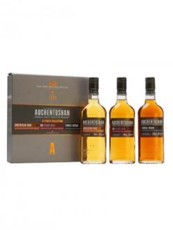 Auchentoshan 3 Pack / American Oak,12 Year Old& 3 Wood Lowland Whisky