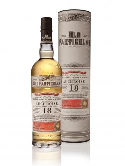 A bottle of Auchroisk 18 years old Douglas Laing Old Particular