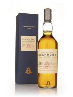 A bottle of Auchroisk 20 Year Old (2010 Release)