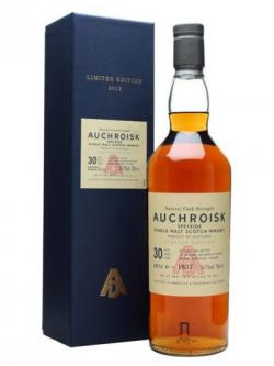 Auchroisk 30 Year Old / Special Releases 2012 Speyside Whisky