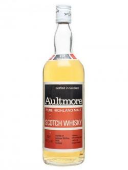 Aultmore 12 Year Old / Bot.1980s / Red& Black Label Speyside Whisky
