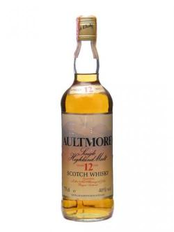 Aultmore 12 Year Old / Bot.1980's Speyside Single Malt Scotch Whisky