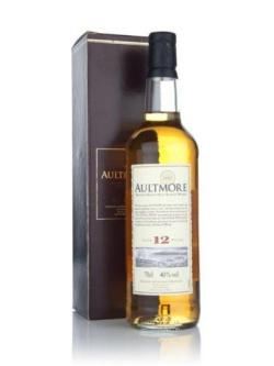 A bottle of Aultmore 12 Year Old