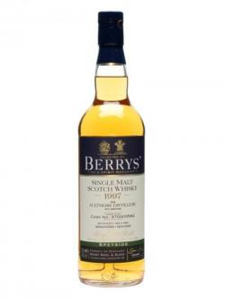 Aultmore 1997 / Cask #3584 / Berry Brothers& Rudd Speyside Whisky