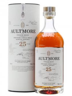 Aultmore 25 Year Old Speyside Single Malt Scotch Whisky
