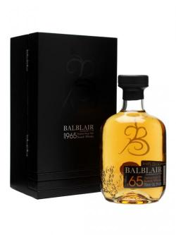 Balblair 1965 Highland Single Malt Scotch Whisky