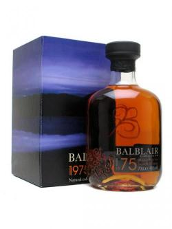 Balblair 1975 / Sherry Cask Highland Single Malt Scotch Whis
