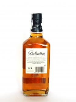Ballantine's 12 year Blue Back side
