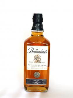 Ballantine's 12 year Blue Front side