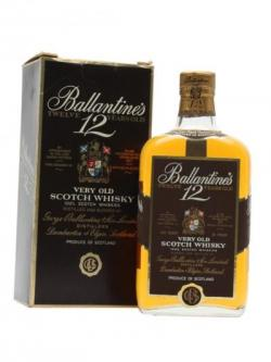Ballantine's 12 Year Old /  Bot.1970s Blended Scotch Whisky
