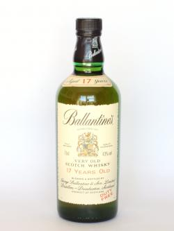 Ballantine's 17 year Front side