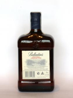 Ballantine's Original Character Back side