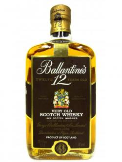 Ballantines Very Old Scotch 12 Year Old