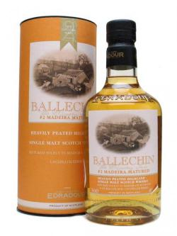 A bottle of Ballechin / Madeira Matured Highland Single Malt Scotch Whisky