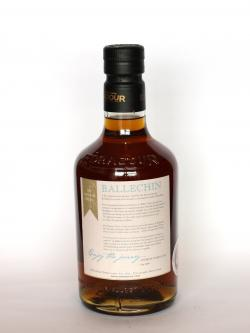 Ballechin Oloroso Cask Matured Back side