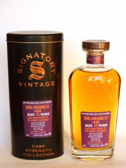 Balmenach 1988 / 25 Year Old / Cask #1132/ Signatory for TWE Speyside Whisky