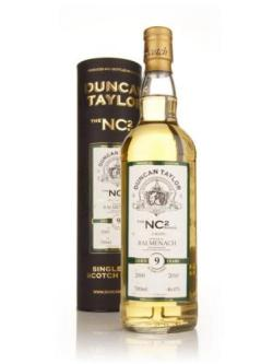 A bottle of Balmenach 9 Year Old 2000 - NC2 (Duncan Taylor)