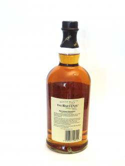 Balvenie 10 year Founder's Reserve Back side