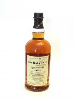 Balvenie 10 year Founder's Reserve Front side